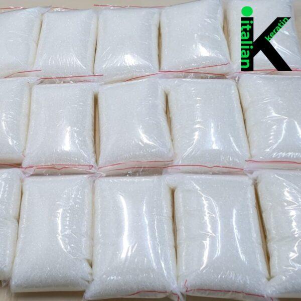 Italian Keratin Transparent Glue Granules 10 kg
