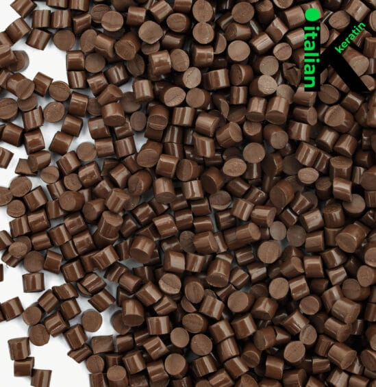 Italian Keratin Brown Glue Granules